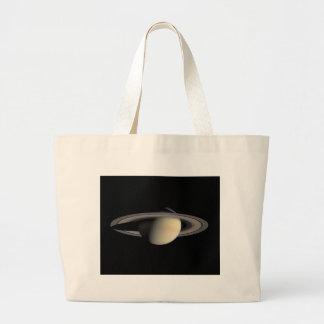 Planeta de Saturn com anéis em torno dele Bolsas