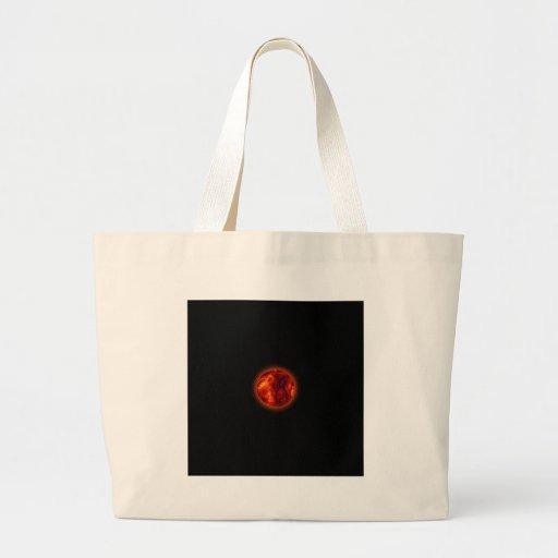 Planeta derretido bolsas para compras