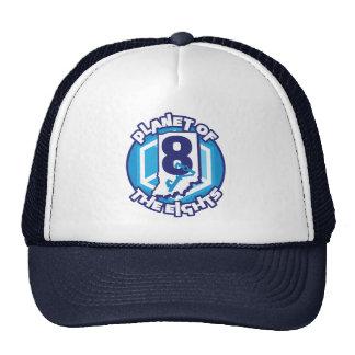 Planeta do chapéu do camionista de Eights Boné