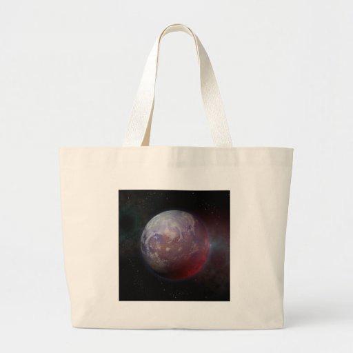 Planeta do espaço bolsas