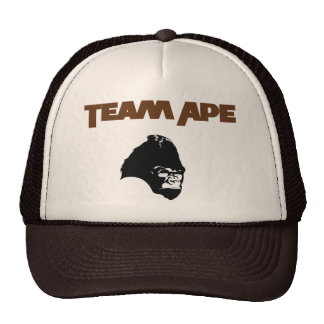 Planeta do macaco da equipe do chapéu de basebol d bone