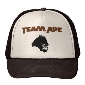 Planeta do macaco da equipe do chapéu de basebol d boné