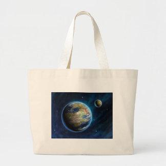 Planeta Earthlike Sacola Tote Jumbo