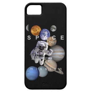 planetas do sistema solar da missão espacial do capa para iPhone 5