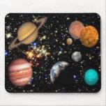 Planetas Mousepad do sistema solar
