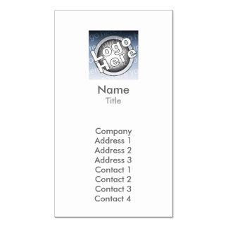 Planície - negócio modelos cartao de visita