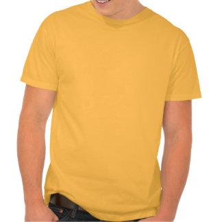 Plano amarelo alaranjado t-shirt