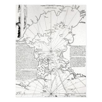 Plano da baía e do porto de Rio de Janeiro Cartão Postal