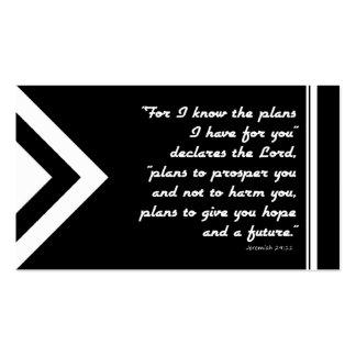Plano do intervalo do evangelho do salvação preto cartão de visita