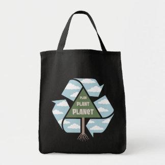 Plano-Planta-Planeta Bolsa Tote
