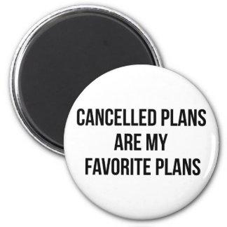 Planos cancelados imã