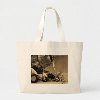 Planos Dauntless do bombardeiro do SBD de Douglas Sacola Tote Jumbo