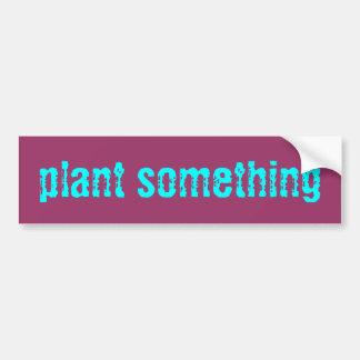 planta algo etiqueta adesivo para carro