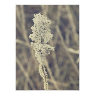 Planta congelada convite personalizado
