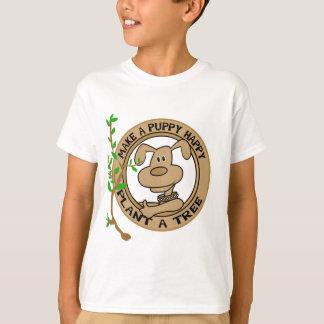 Planta do filhote de cachorro camiseta e presentes
