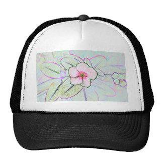 planta floral colorida do esboço da flor de pinwhe