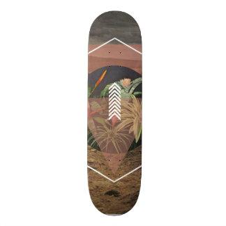 Plantas de deserto shape de skate 19,7cm