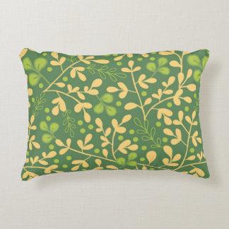 Plantas do quimono almofada decorativa