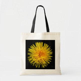 Plantas nos bolsas - dente-de-leão amarelo