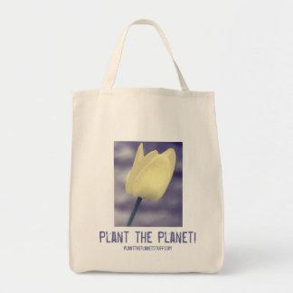 Plante o planeta! O bolsa do mantimento