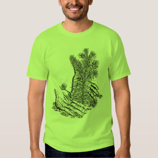 Plante uma árvore camisetas