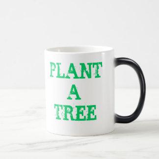 Plante uma árvore caneca transmutação