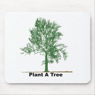 plante uma árvore mouse pad
