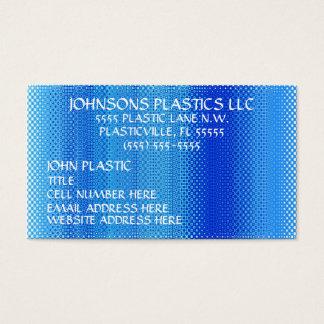 Plásticos Empresa Cartão De Visitas