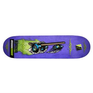 "Plataforma 024 de Scolletta ""Oldschool MAXX 2000"" Shape De Skate 18,7cm"
