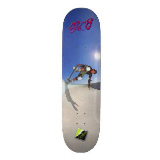 """Plataforma 103 de Scolletta """"SK8"""" Shape De Skate 20,6cm"""