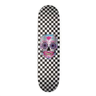 Plataforma cor-de-rosa feita sob encomenda do shape de skate 19,7cm