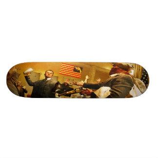 Plataforma da BANDEIRA Shape De Skate 19,7cm