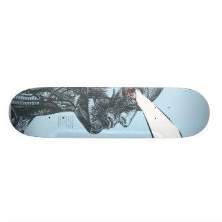 Plataforma da prancha shape de skate 18,4cm