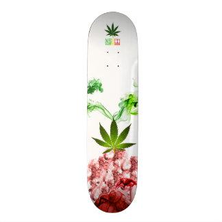 """Plataforma das """"ervas"""" de NothingSpecial Shape De Skate 18,7cm"""