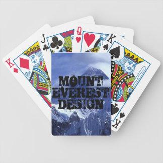 Plataforma de cartão do design de Eversest da mont Baralho Para Truco