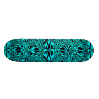 Plataforma de néon azul abstrata do skate dos