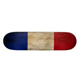 Plataforma do skate da bandeira de France do Grung