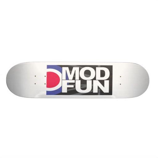 Plataforma do skate do alvo do MF