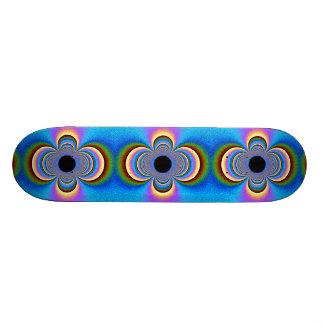 Plataforma do skate do bordo com arte original
