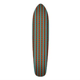 Plataforma do skate do motivo do sudoeste