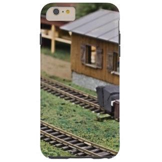 Plataforma do trem do brinquedo capas iPhone 6 plus tough