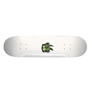 Plataforma dos grafites do Kanji de Japão Shape De Skate 18,4cm