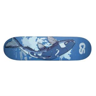 Plataforma dos peixes do CS Shape De Skate 20,6cm