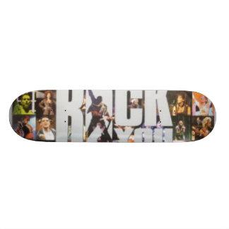 Plataforma falsa da rainha shape de skate 21,6cm