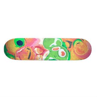 Plataforma frutado do skate do abstrato do