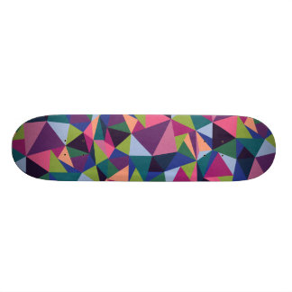 Plataforma geométrica do skate