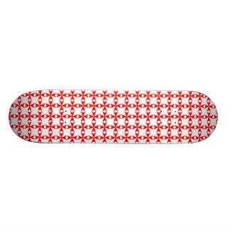 Plataforma maltesa do skate do símbolo de fogo