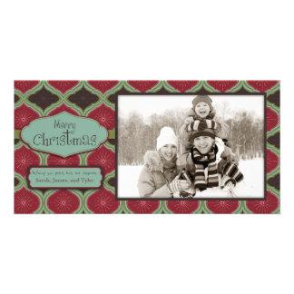 Plataforma o cartão com fotos dos salões cartão com foto