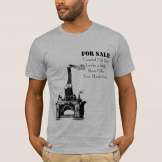 Plataforma petrolífera para a venda camiseta
