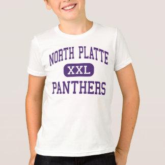 Platte norte - panteras - alto - Dearborn Missouri Camiseta